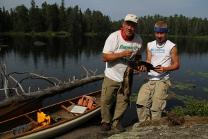 Good fishin' in the BWCA