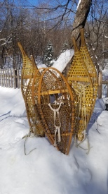 """old-fashioned"" snowshoes"